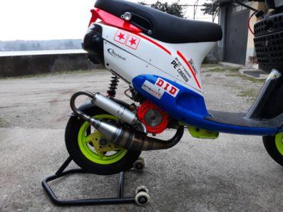 Scarico TRexhaust su Zip sp di Giuseppe